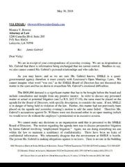 A letter from SMILE's attorney to the attorney representing a SMILE employee who is demanding $800,000 over allegations of harassment and civil rights violations by resigned CEO Chris Williams.