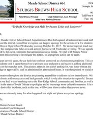 The response from the Meade School Board.