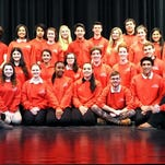 """The cast of Vineland High School's Cap 'n' Dagger Club production of """"Thoroughly Modern Millie,"""" which will be performed Thursday to Saturday."""