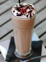 Bru Burger Bar's Chocolate Milkshake