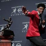 Lousiville's Lamar Jackson wins Heisman Trophy