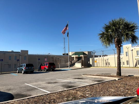 The outside of the Brevard County Jail, a completely