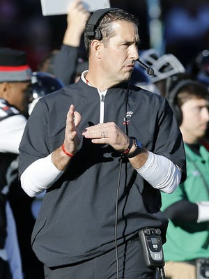 Cincinnati Bearcats football coach Luke Fickell will put his team through its first 2018 practice Friday at Camp Higher Ground in West Harrison, Indiana.