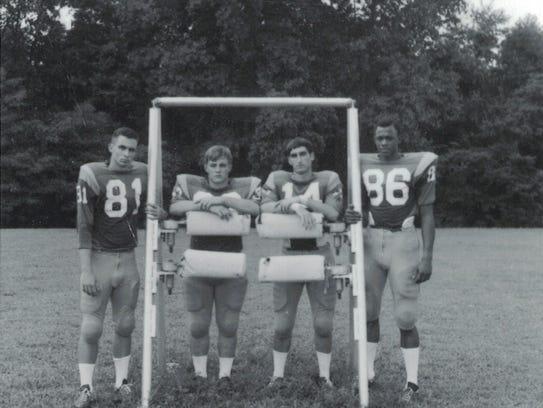 Taylor Stokes, far right, integrated Greenwood Junior