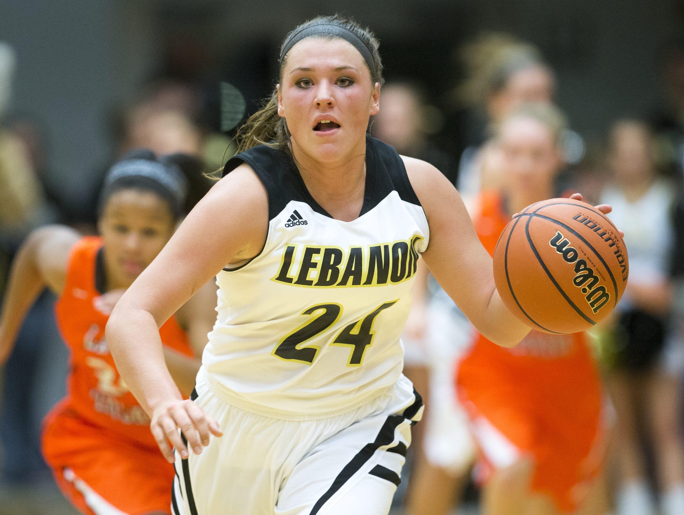High-scoring Kristen Spolyar has set her sights on Rick Mount's Lebanon school record.