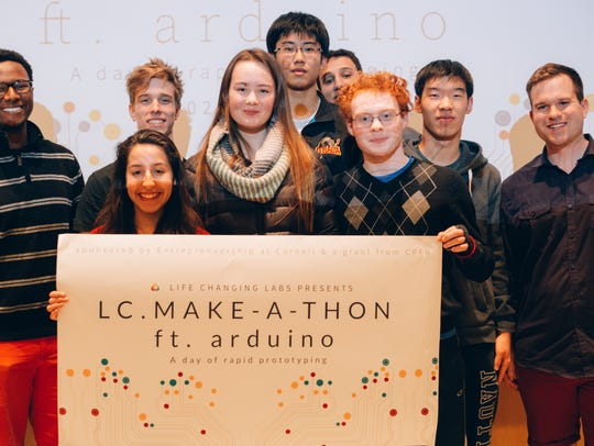 The winners of the Life Changing Lab's first annual