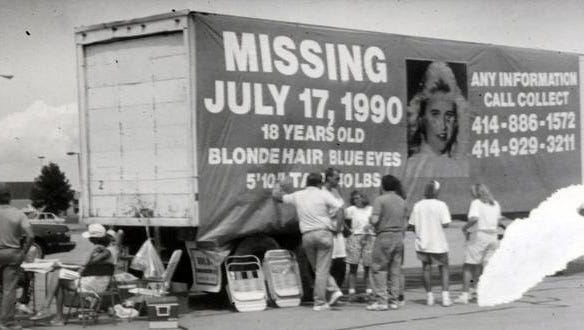 Photos of filed photos from the July 17, 1990 Missing Berit Beck Case