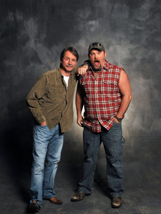 wisconsin is larry the cable guy 39 s 39 2nd home 39. Black Bedroom Furniture Sets. Home Design Ideas