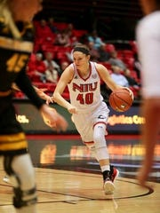 Merrill graduate Renee Sladek has decided to walk away from the sport of basketball due to left knee issues after playing two years at Northern Illinois.