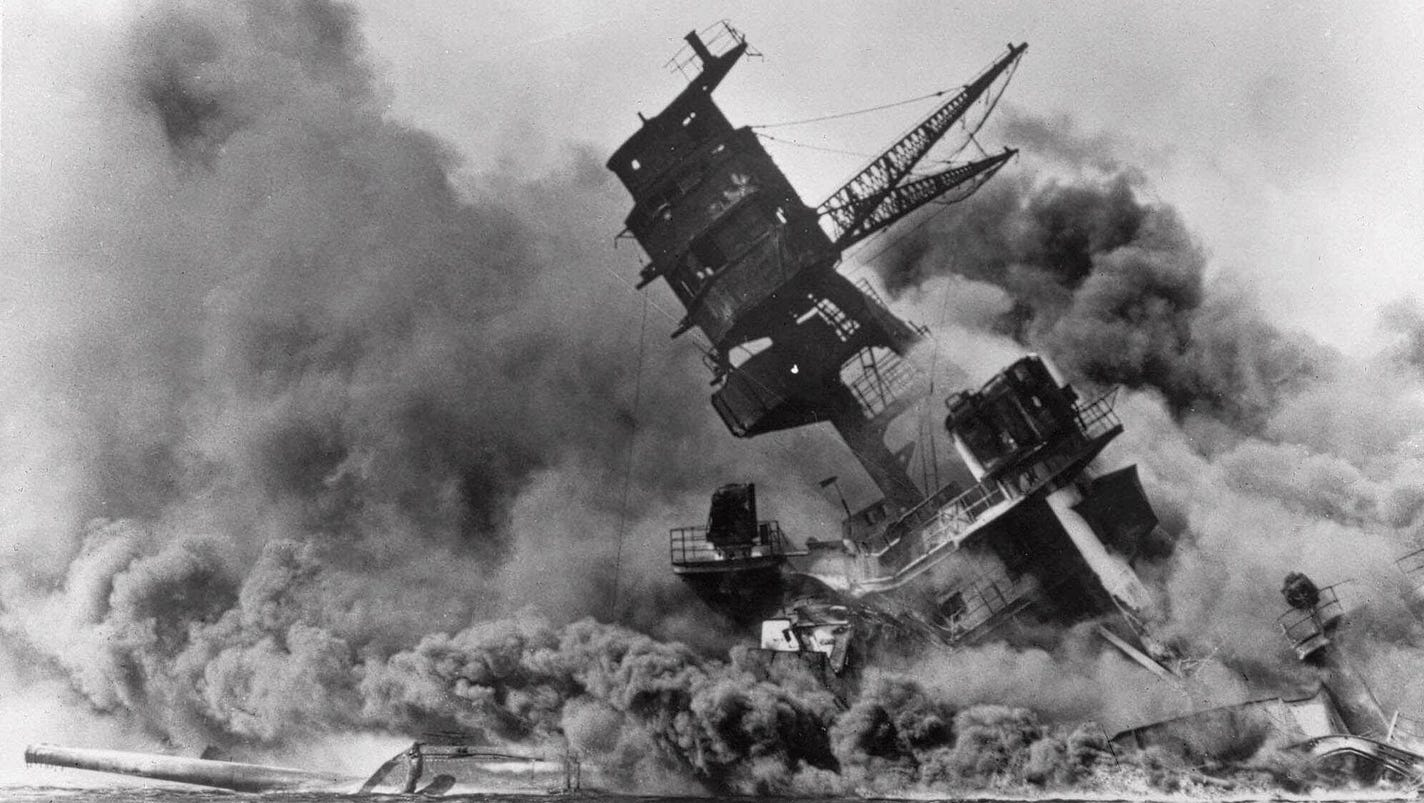 pearl harbor reaction essays Pearl harbor is a two-hour movie squeezed into three hours, about how on dec 7, 1941, the japanese staged a surprise attack on an american love triangle its centerpiece is 40 minutes of redundant special effects, surrounded by a love story of stunning banality.