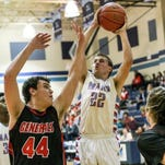 J.L. Mann senior Jack Zemp (22) was selected the Greenville County Boys Player of the Week for the week of Feb. 1.