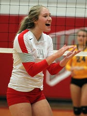 Nixa outside hitter Aubrey Cheffey upheld a verbal commitment to Missouri State University before signing with the volleyball team on the first day possible.