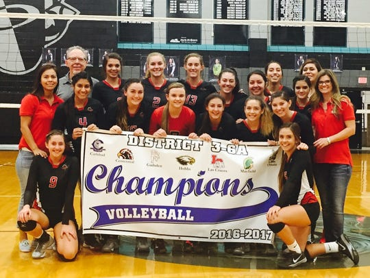 Centennial volleyball went 12-0 in District 3-6A play