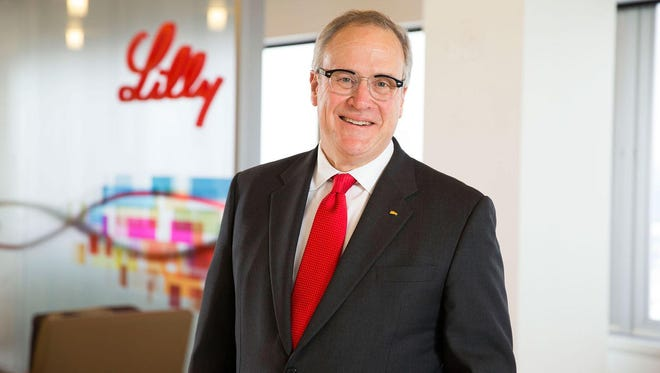 Former Eli Lilly and Co. CEO John Lechleiter