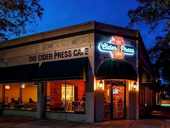 The Cider Press Cafe location at 601 Central Ave.,