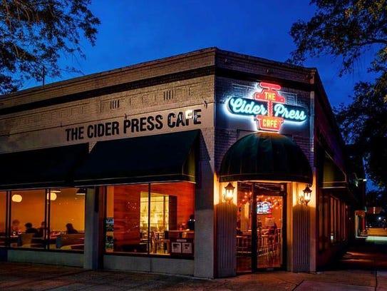 Cider Press Cafe St Petersburg