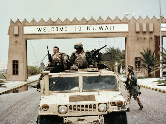 Mideast Gulf War AP Was There
