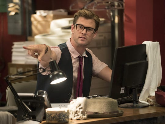 "Chris Hemsworth stars as the hunky but dim receptionist in ""Ghostbusters."""