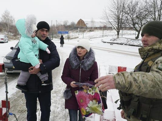 Russia Ukraine At the Border