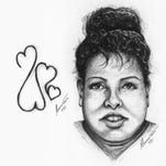 The Tennessee Bureau of Investigation released this sketch of a woman found dead Aug. 22, 2016, in the hope that someone will be able to identify her.