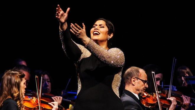 Vanessa Vasquez performance at Phoenix Opera's 2016 Southwest Vocal Competition.