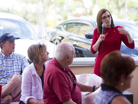 Rep. Martha McSally at Palo Verde Republican Women event