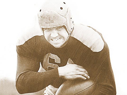 NFL PLAYOFFS  TED FRITS circa 1947