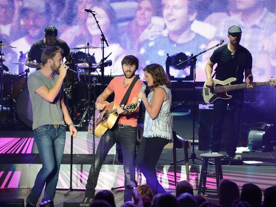 Lady Antebellum played the Iowa State Fair in 2014.
