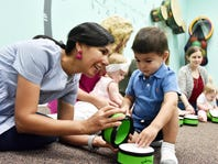 Talk, Sing and Point can help babies develop