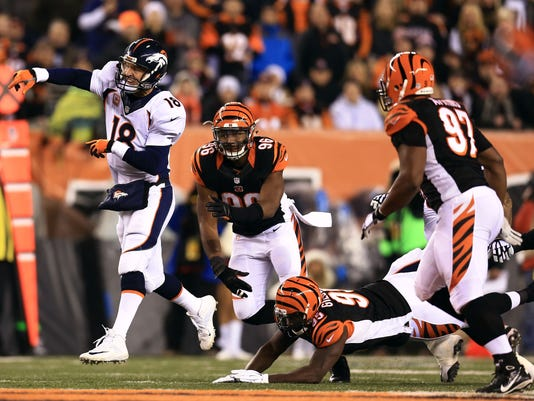 NFL: Denver Broncos at Cincinnati Bengals