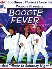 """March 17 """"Boogie Fever: A Musical Tribute to Saturday Night Fever"""" to help support Southeast Florida Honor Flight. Show starts at 7 p.m. at the Lyric Theatre, Stuart."""