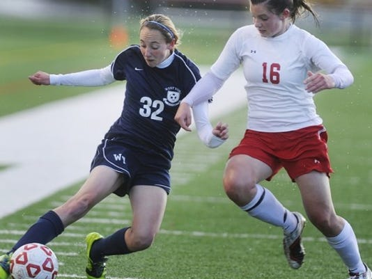 Amanda Cheak (left) and West York will host York Suburban on Friday with first place in YAIAA Division II on the line.