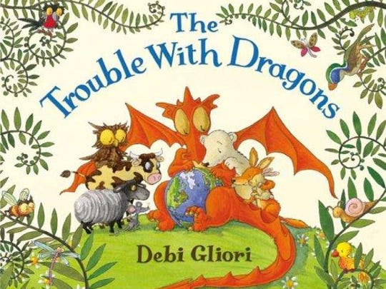 'The Trouble with Dragons' by Debi Gliori