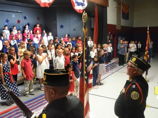 "AHA Cottonwood students perform at a ""We the Kids,"