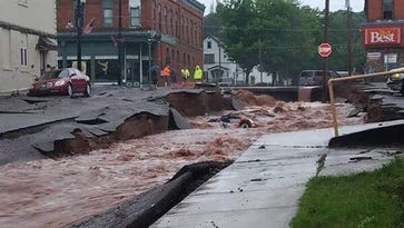 Michigan governor declares 'state of disaster' for two counties after flash floods