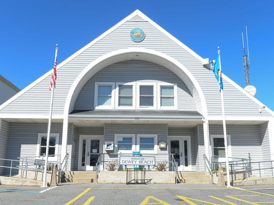 The Dewey Beach Police Department located on Rodney Street in Dewey Beach, Del.