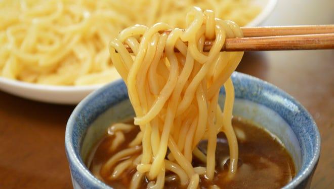 Japanese food, Tsukemen.