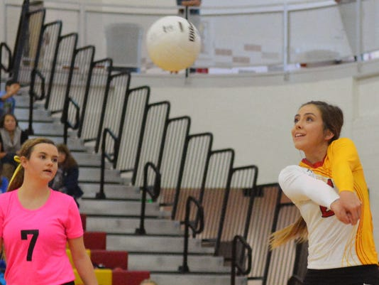 CHS volleyball