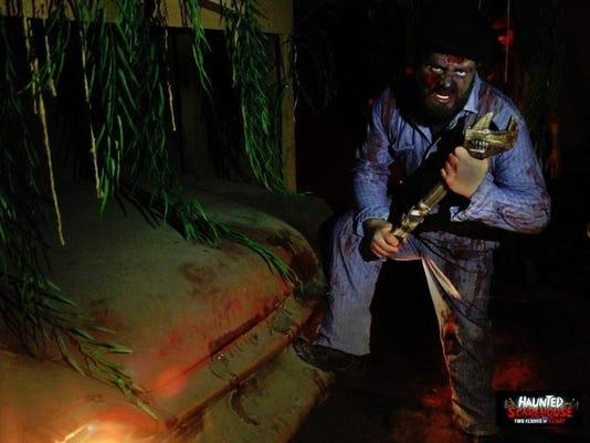 NJ Scare House Zombie Mechanic