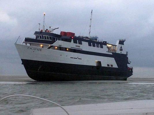 Casino Boat Stuck