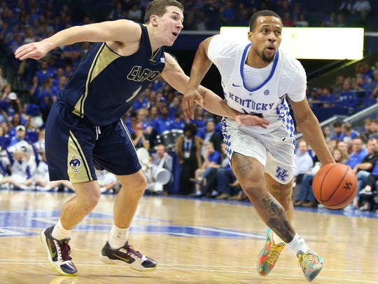 Isaiah Briscoe is so improved this year that Stephen F. Austin coach Kyle Keller told him that during the game.