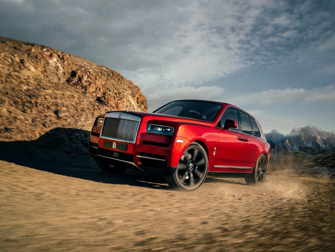 Rolls-Royce unveils the Cullinan SUV. It can go off