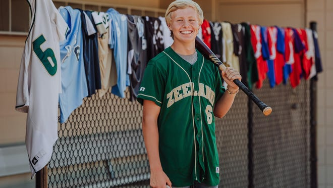 Zeeland West senior Camden Keatley persevered through a major head injury and a global pandemic during his up-and-down baseball career.