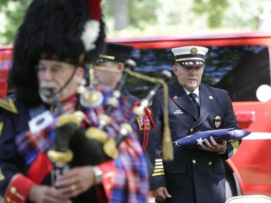 Green Bay Metro Fire Department Fire Chief David Litton