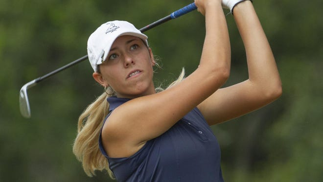 Lakeland's Analiese Raath finished second at the Class 3A, Region 2 golf tournament on Tuesday afternoon in St. Cloud.