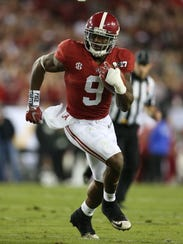 Alabama running back Bo Scarbrough accumulated 812