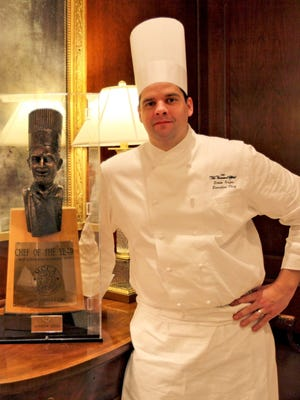 Townsend Hotel Executive Chef Drew Sayes was recently named 2014 Chef of the Year.