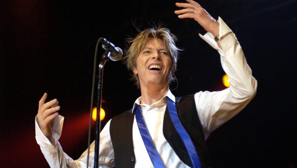 Bowie wasn't afraid to be cheesy and we loved that