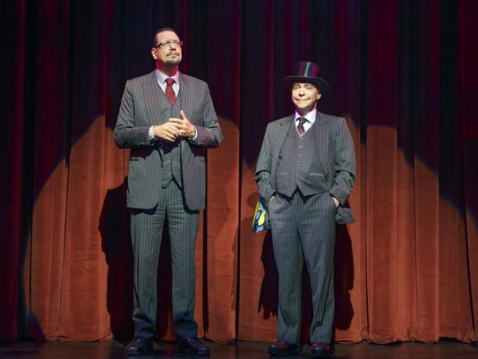 Penn & Teller On Broadway Marquis Theatre
