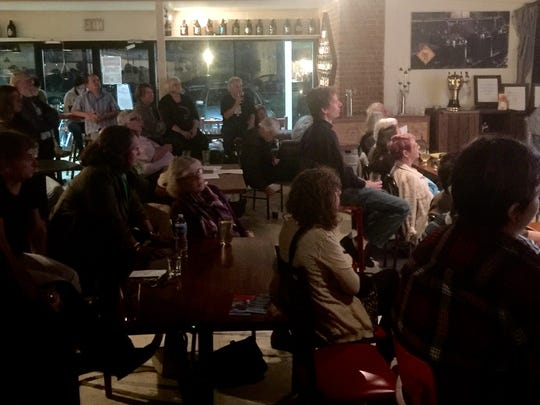 More than 70 people gather at Queen City Brewing Ltd.